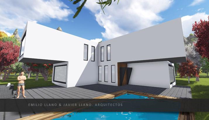 Emilio llano javier llano vivienda unifamiliar llave en mano estudio de arquitectura - Arquitectos en oviedo ...